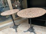 Tavolini rotondi in marmo