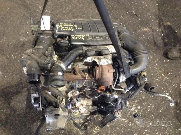 Motore Peugeot 308 1.6 16V HDI 9HV (66kw) usato