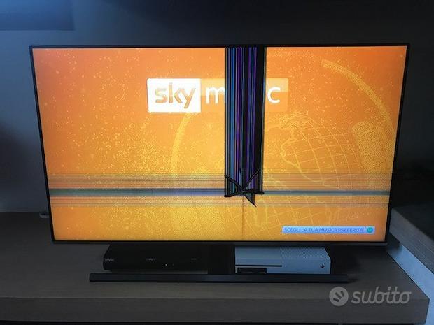 Samsung tv 49'' danneggiata