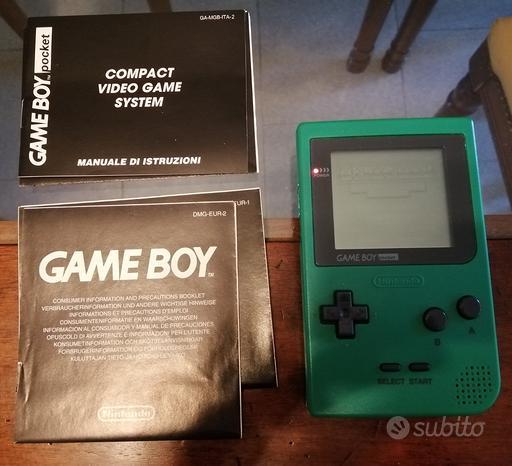 Gameboy Pocket + 2 giochi
