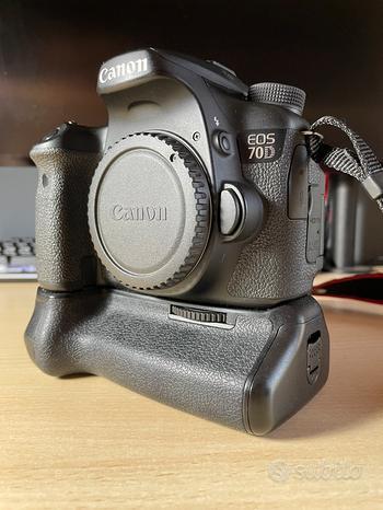 Canon 70D e accessori fotografia
