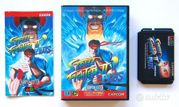 Street Fighter 2 Plus Sega Megadrive