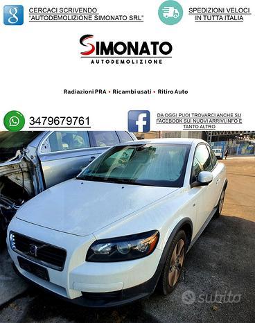 Ricambi volvo c30 2009 1.6diesel kinetic 80kw
