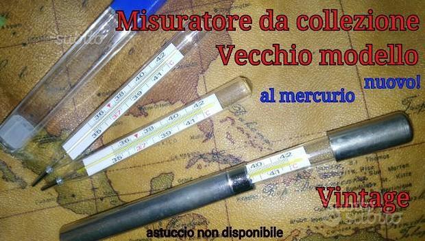 Termometro al mercurio {da collezione} NUOVI