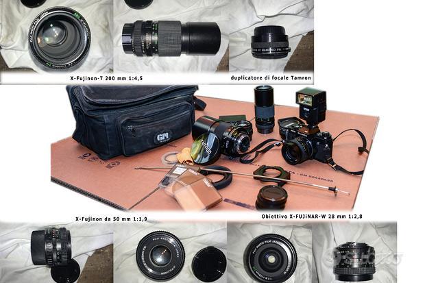 Fujica AX-3 35 mm analogica e accessori