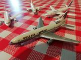 Modellini aerei di linea in metallo