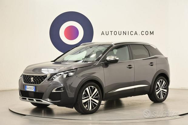 PEUGEOT 3008 BLUEHDI EAT8 S&S GT TETTO PANORAMIC