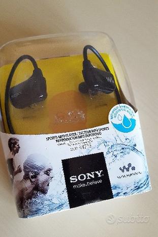 NUOVO - MP3 Sony NWZ-W273 - 4 GB, Impermeabile