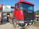 Scania 124g-400 mezzo d'opera 8x4