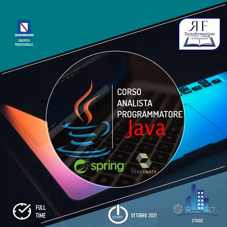 Corso Analista Programmatore Java