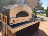 Forno alfa stone oven gas legna hybrid giardino
