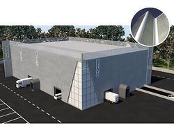 Porzione capannone pt di 430mq-interno alto 8,5mt