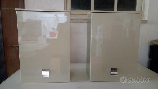 Arredo bagno - 2 pensili, armadio e specchio