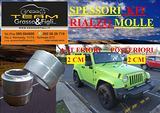 Kit Rialzo Jeep Wrangler Cherokee Compass