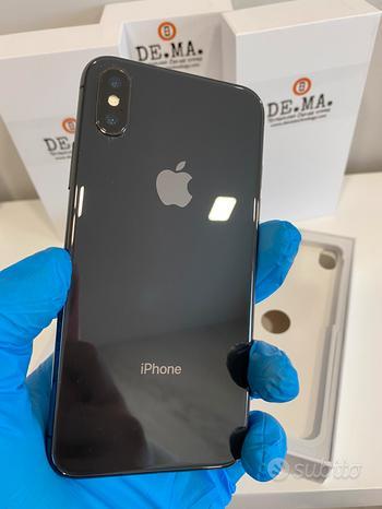 IPhone X Space gray 64gb 12 mesi garanzia