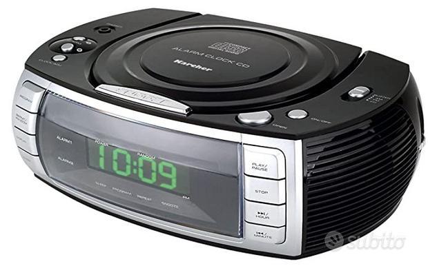 Karcher UR 1305 Radio stereo con orologio e lettor