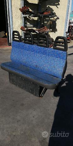 Panchina sedile 4 posti Iveco Daily