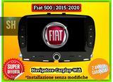 Autoradio navigatore Carplay FIAT 500   2015-2020
