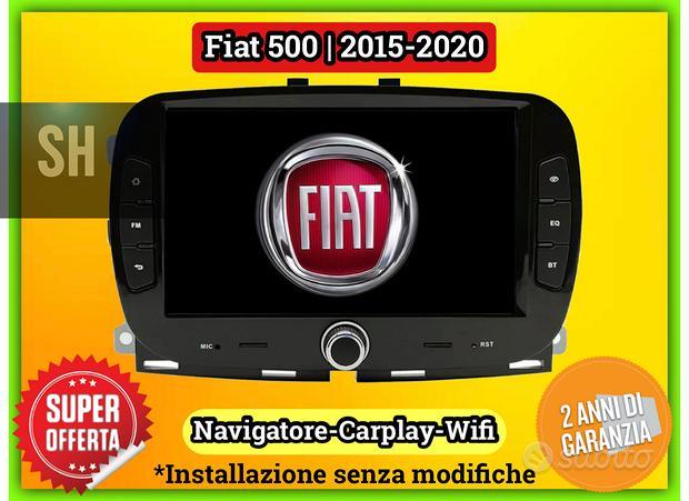Autoradio navigatore Carplay FIAT 500 | 2015-2020