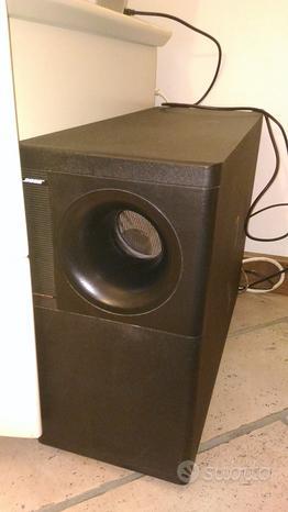 Bose sistema acoustimass 5 x 9 diffusori