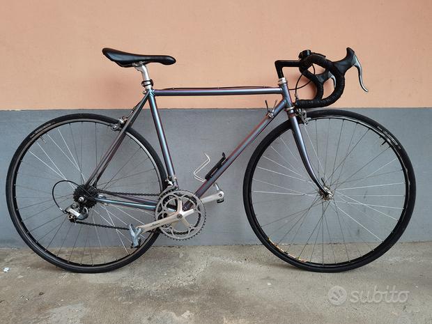 Bici da corsa taglia S telaio acciaio