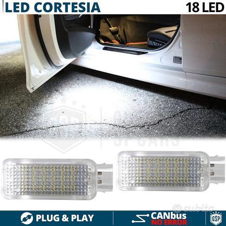 Plafoniere LED Luci cortesia Per Audi Luce BIANCA