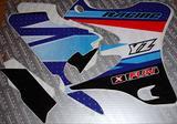 Adesivi yamaha YZ 2002 al 2012 grafiche xfun 125