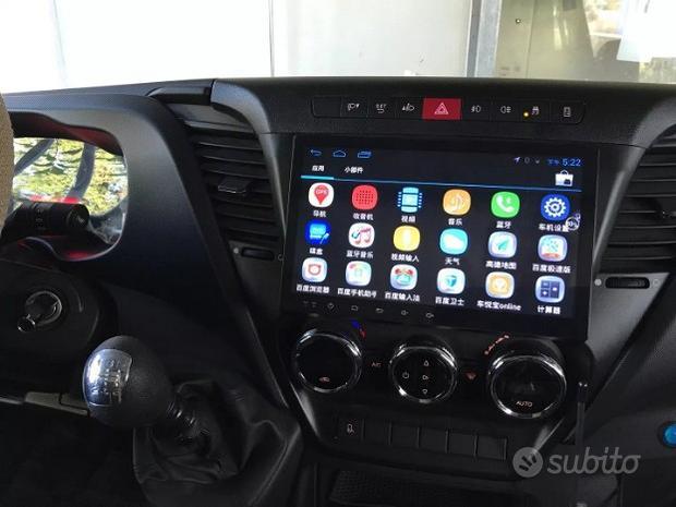 Autoradio navigatore iveco new daily
