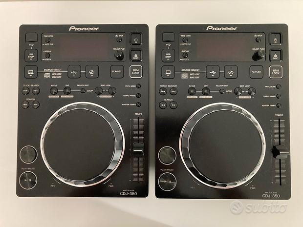 Coppia CDJ Pioneer 350 usati