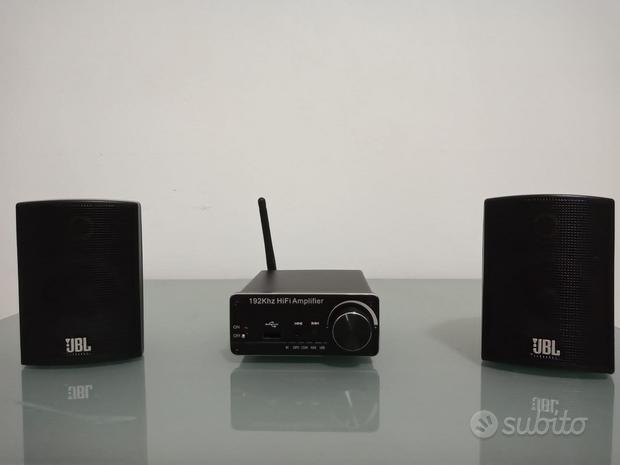 Micro impianto stereo hi-fi bluetooth