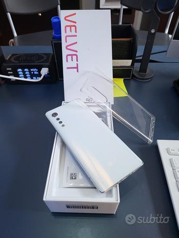 Lg velvet thinQ 5G white 6/128gb