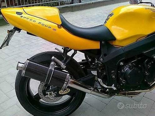 Short Carbon Roadsitalia Triumph Baby Speed 600