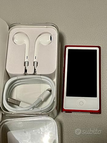 Ipod Nano 7G Rosso Red 16gb