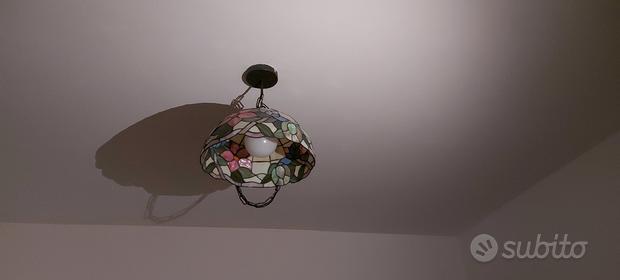 Lampadario stile Tiffany