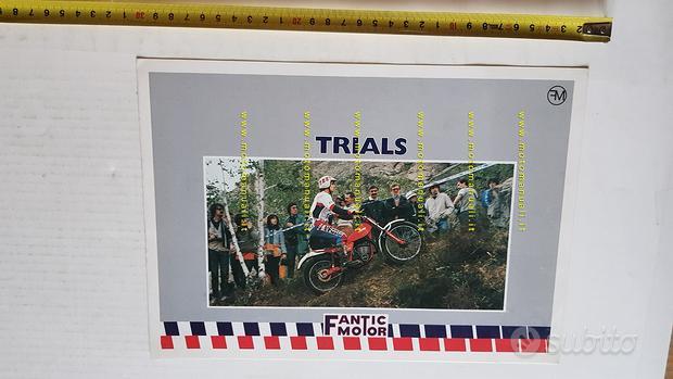 Fantic Motor Trial catalogo modelli 1983 depliant