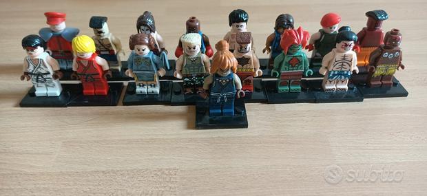 LEGO Minifig Street Fighter 2 - compatibili LEGO