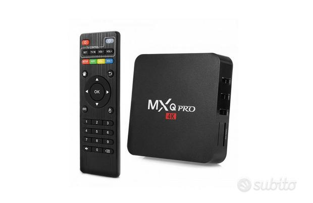 Android TV Box Wifi Full HD MXQ Pro 4K