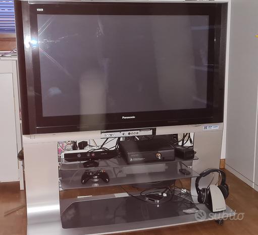 "TV Plasma Panasonic 42"" - Decoder esterno DVB-T2"