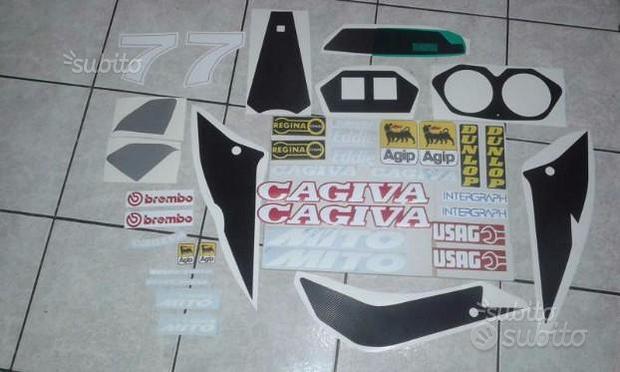 Serie adesivi Cagiva Mito 125 Lawson 1993