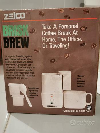 Macchina caffe moka portatile