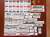 Scritte PORSCHE 911 Carrera Cayenne Boxster Macan