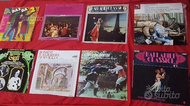Dischi LP jazz - lirica - ballabili , disco ecc