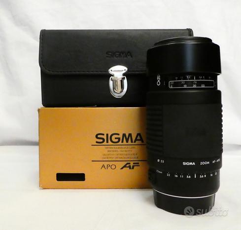 Sigma 75-300 AF APO f/4.5-5.6 x Canon