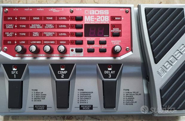 Pedaliera multieffetto BOSS ME-20B