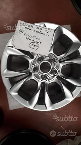 """Cerchi lega 17"""" pneumatici invernali Fiat 500X"""