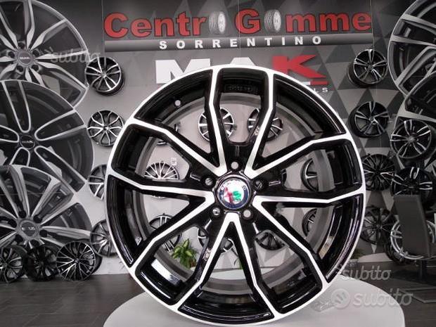 Cerchi Cerchi In Lega Alfa 147 156 Psw Miami 16 17