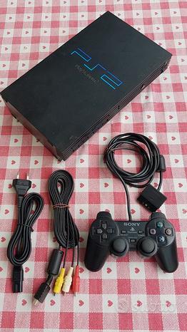 Console Playstation 2 +Joystick e giochi
