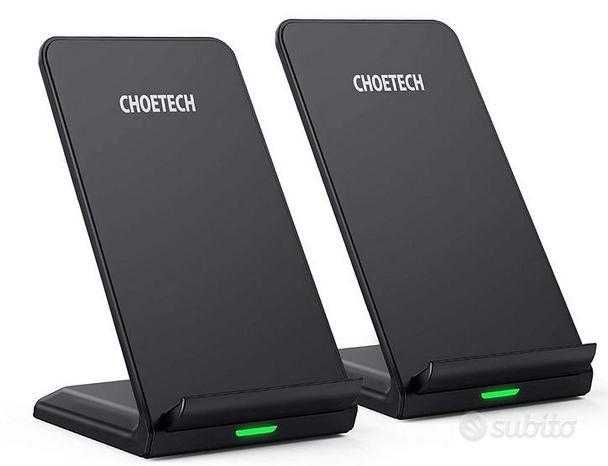 CHOETECH Caricatore Wireless 2 Pack,Ricarica Wirel
