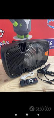 Cassa Karaoke 2000w con microf.