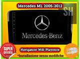 NAVIGATORE tablet Mercedes ML 2005-2012 wifi GPS